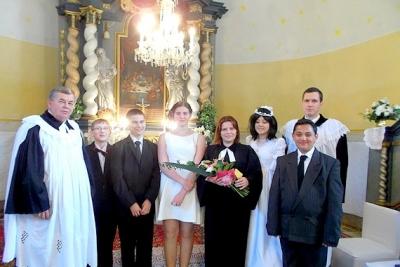 V Cirkevnom zbore Evanjelickej cirkvi a. v. v Rožňavskom Bystrom prijali nových a oslávili jubilujúcich konfirmandov