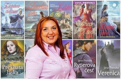 Úspešná slovenská spisovateľka Jana Pronská sa už druhýkrát teší na rožňavských čitateľov