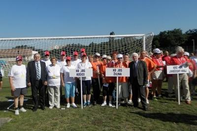 Seniori z Čiech a Slovenska sa stretli na 3. Medzinárodných športových hrách seniorov v Prahe
