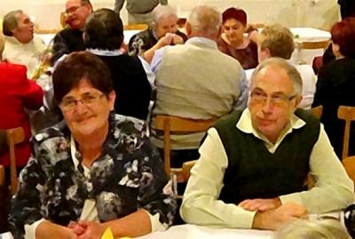 Na predvianočnom posedení seniorov v Rudnej pozdravili aj tohtoročných jubilantov