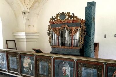 Barokový organ z Brdárky pripravený na organový koncert