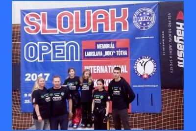 Na 18. ročníku WAKO, medzinárodného turnaja Slovak Open, získali Revúčania dve strieborné a štyri bronzové medaily