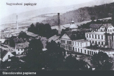 Pár slov k najstaršej papierni so strojovou výrobou v Uhorsku
