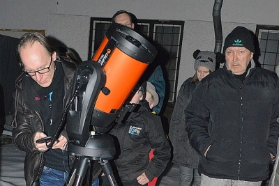 Nový ďalekohľad v rožňavskej hvezdárni vítajú nadšenci astronómie