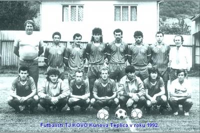 Z histórie nášho futbalu: O vypadnutí Kunovej Teplice zo IV. ligy – západ