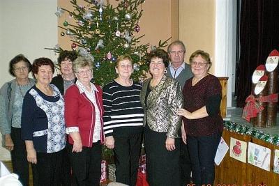 Stretnutie seniorov pri vianočnej kapustnici v Revúckej Lehote