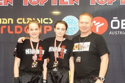 Kickboxerky zRevúcej na jednom z najväčších svetových pohárov v Innsbrucku