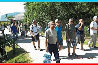 """""""LEHVATKA"""" privítala účastníkov 17. okresného turistického zrazu seniorov revúckeho okresu"""
