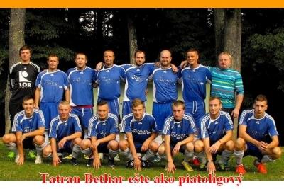 V Tatrane Betliar sa káder po vypadnutí z V. ligy stabilizoval