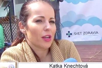 Rimavsko - sobotských pacientov prekvapí Katka Knechtová