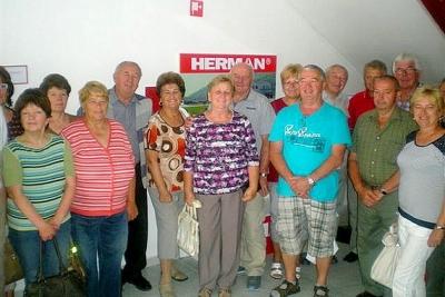Exkurzia revúcko - lehotských seniorov do  Firmy Herman Slovakia sa vydarila