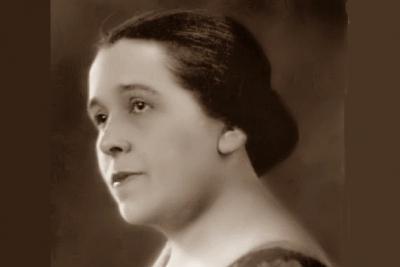 Slávik z Jelšavy - operná speváčka Mária Basilidesová (11.11.1886 Jelšava – 26.09.1946 Budapešť)