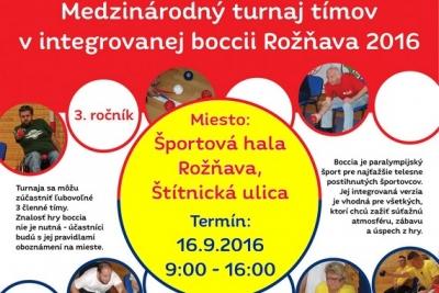 Na tretí ročník turnaja do Rožňavy sa už prihlásili boccisti zo Slovenska, Maďarska, Poľska a Chorvátska