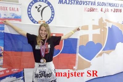 Stela Laurenčíková, členka športového klubu Kickbox Leon Revúca sa zúčastní Majstrovstiev sveta juniorov a kadetov