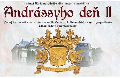 Preneste sa s nami do minulosti Gemera prostredníctvom Andrássyho dňa II