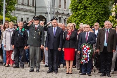 Deň víťazstva nad fašizmom si pripomenuli aj obyvatelia Revúcej