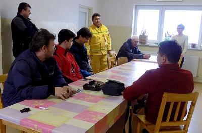 Návšteva dobrovoľných hasičov zo Zvolena v Jelšave