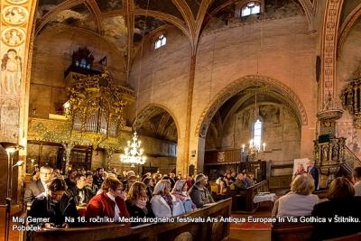 Medzinárodný festival Ars Antiqua Europae In Via Gothica má za sebou úspešný 16-ty ročník