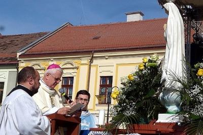 V Rožňave sa uskutočnila slávnosť Zasvätenia Rožňavskej diecézy Nepoškvrnenému Srdcu Panny Márie