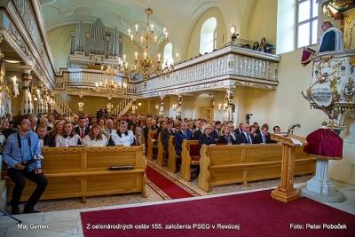 Oslávili sme 155. výročie vzniku  Prvého slovenského evanjelického a. v. gymnázia v Revúcej