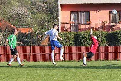 Najčastejšie tlieskali gólom v bráne diváci na futbalovom zápase I. triedy dospelých Baník Drnava - FK Hrhov