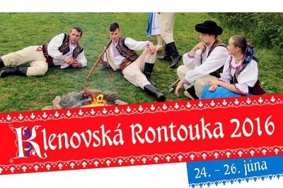 38. ročník Gemersko – malohontských folklórnych slávností – Klenovská Rontouka sa blíži