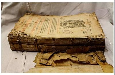Predmetom mesiaca marec je sedem zreštaurovaných starých tlačí 17. - 19. storočia