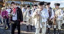 Pod Maginhradom si Slovenským mitrovaním pripomenuli tradíciu ukončenia ovčiarskej sezóny