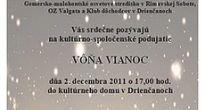 Vôňa Vianoc v Drienčanoch sa bude šíriť aj vďaka tradičným gastronomickým súťažiam