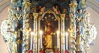 Posvätenie zreštaurovaného neskorogotického oltára v Evanjelickom kostole a.v. v Slavošovciach