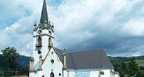 V evanjelickom kostole v Dobšinej sa nachádza unikátna zbierka minerálov