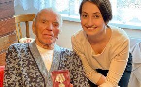 Pri príležitosti 75. výročia Veľkej vlasteneckej vojny odovzdali Jánovi Štefánikovi pamätnú medailu
