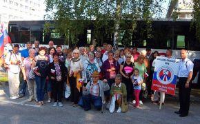 Členovia MO SZPB partizána Tótha v Rožňave sa zúčastnili centrálnych osláv 73. výročia SNP