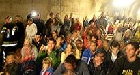 Koncertom štyroch hudobných skupín slávnostne otvárali pre verejnosť Slavošovský tunel pod Homôlkou