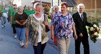 Položením vencov k pamätníkom obetí oslávili  68. výročie SNP aj v Čiernej Lehote