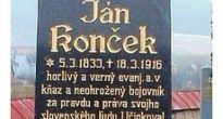 V Rejdovej si uctili pamiatku Jána Končeka, evanjelického kňaza a podporovateľa Matice slovenskej