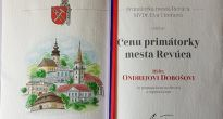 Návraty do rodného kraja spojené s Cenou primátorky mesta Revúca