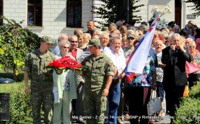 Spomienkové zhromaždenie k 74. výročiu SNP v Rimavskej Sobote