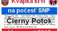 Kvapku krvi na počesť SNP môžete darovať v Čiernom Potoku