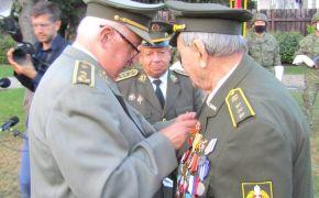 Vyznamenanie generála Viesta prevzal aj červenoarmejec Ladislav Sládek z Rimavskej Soboty