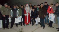 Mikulášske stretnutie v tuneli pod Homôlkou