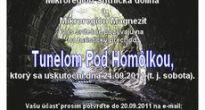 Tunel pod Homôlkou spojí obyvateľov košického a banskobystrického kraja