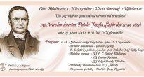 Kobeliarovo sa pripravuje na spomienkovú slávnosť 150. výročia úmrtia Pavla Jozefa Šafárika
