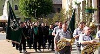 Dni mesta Dobšiná zavŕšili Turíčnymi sviatkami a nedeľným pochodom baníkov