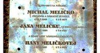 Vlachovčania si uctili 112 výročie narodenia národnej umelkyne Hany Meličkovej