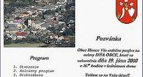 V Honciach sa pripravujú v túto sobotu 19. júna osláviť Deň obce