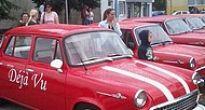 Hnúšťa videla pospolu päťdesiatpäť veteránov osobných áut zn Škoda 1000 MB