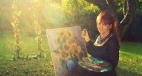 JUBILANTKA KATKA – amatérska výtvarníčka z Chyžného maľuje už polstoročie