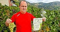 Najkvalitnejšie víno v Slovenskom krase má starosta z Hrušova Gabriel Parti