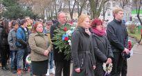 Obyvatelia Tornale si pripomenuli 71. výročie oslobodenia mesta položením vencov pri pomníku padlých